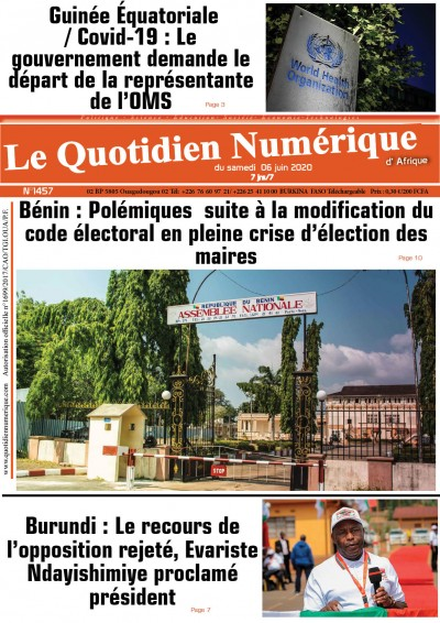 Burundi : Le recours de l'opposition rejeté
