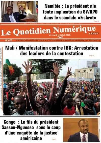 Mali / Manifestation contre IBK