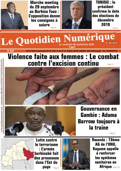 Le combat contre l'excision continue | Sié Alfred Kam