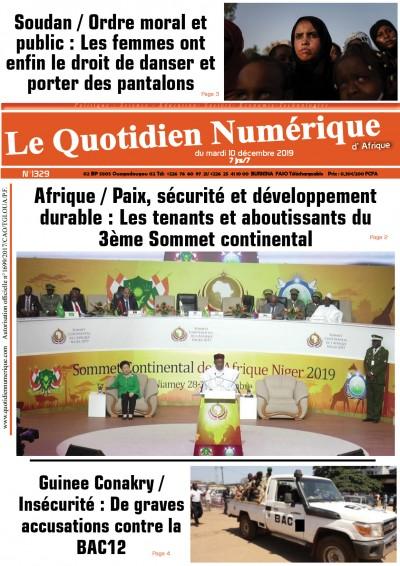 Afrique/Paix, sécurité et développement durable