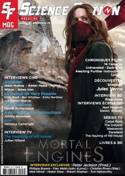 Jaquette Mortal Engines