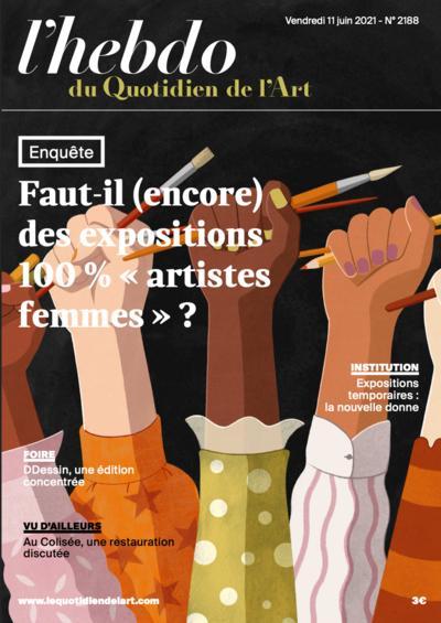 """Couverture de Expositions 100 % """"artistes femmes """" ?"""