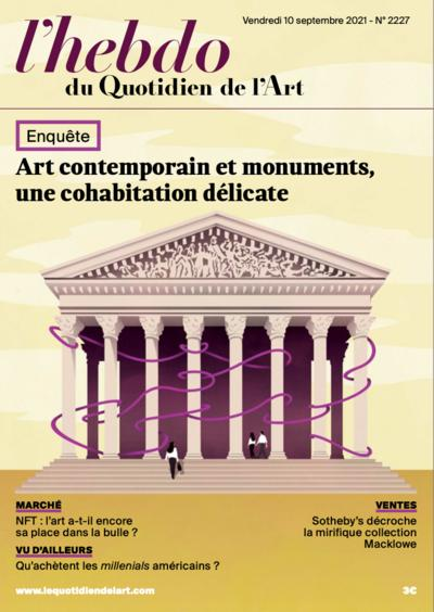 Couverture de Art contemporain et monuments